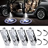 LED Car Door Light Projector Courtesy LED Laser Welcome Lights Ghost Shadow Light Logo Compatible with Accessories X1/X3…