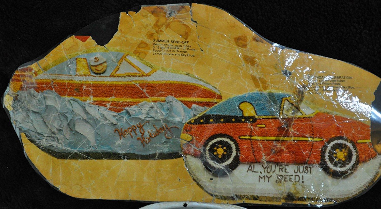 502-1948 Wilton Cake Pan Sports Car//Speed Boat//Convertible Retired 1979