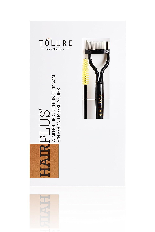 Tolure Cosmetics Hairplus Pettine per Ciglia e Pettine per Sopracciglia - 34 Gr TO-027