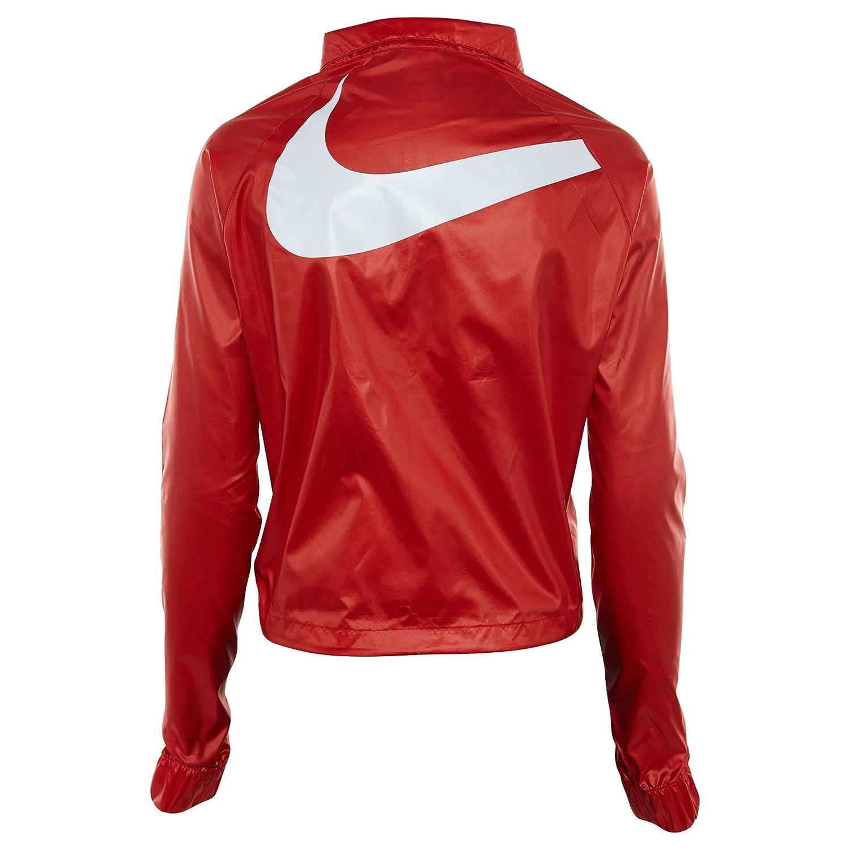 259e3aa746 Nike NSW W JKT Windbreaker swsh Veste Coupe-Vent Femme M Rouge (University  Red Black   White)  Amazon.fr  Sports et Loisirs