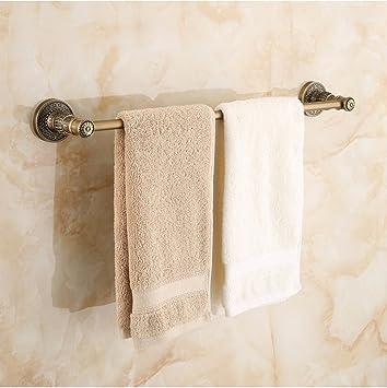 ZXC Bathroom racks Los baños Antiguos Continental Colgador toallero toallero de Pared de baño Ducha Toallas Toalla Hardware de Montaje en Bastidor: ...