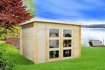 Gartenhaus Fußboden Nageln Oder Schrauben ~ Alpholz gent gerätehaus holz mit boden gartenhaus klein mit