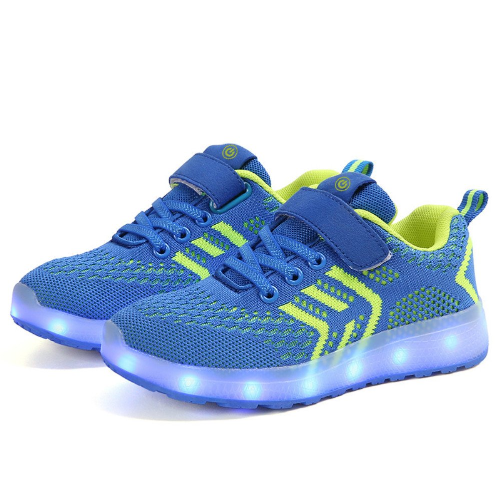 Moquite Scarpe LED Bambini Bambina 7 Colore USB Carica Sneaker ...