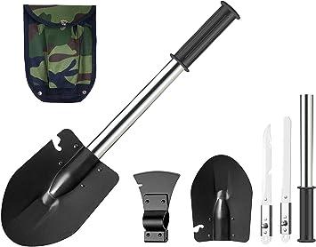 Pelle Multifonctionnel Militaire Pliante Petit L/éger B/êche avec /étui de transport