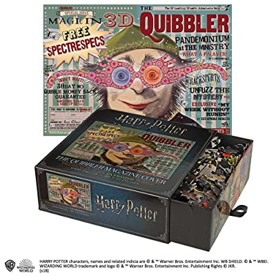 Noble Collection The Harry Potter Puzzle Portada The Quibbler, (NN9453): Juguetes y juegos