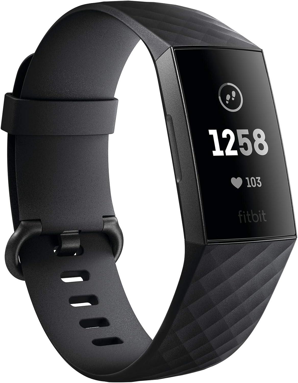 Amazon.com: Fitbit Charge 3 pulseras con Sensor Sp02