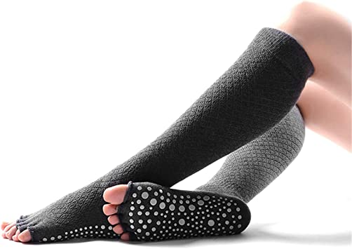 SANIQUEEN.G Calcetines de Dedos Separados para Yoga, Mujer ...