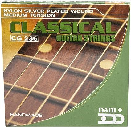 Dadi 7D07 - Juego de cuerdas para guitarra española/clásica ...