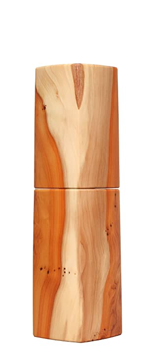 Woodandform Design Pfeffermühle Holz Unikat Eibe: Amazon.de: Küche ...