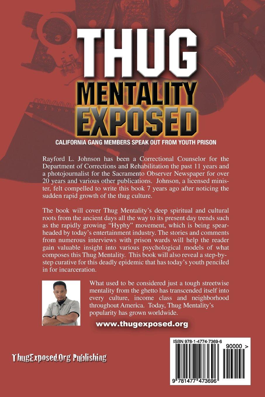 Read PDF Thug Mentality Exposed Book: California Gang