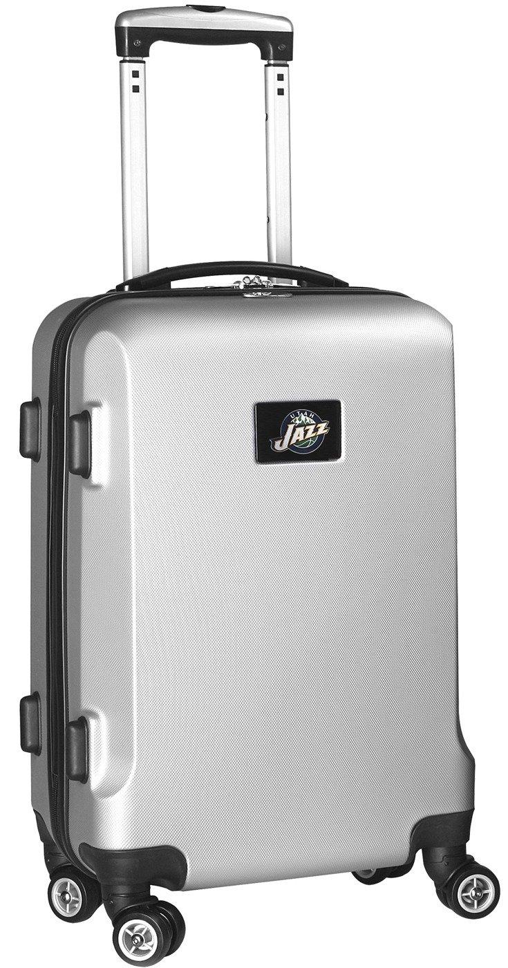 NBA Utah Jazz Carry-On Hardcase Spinner, Silver by Denco