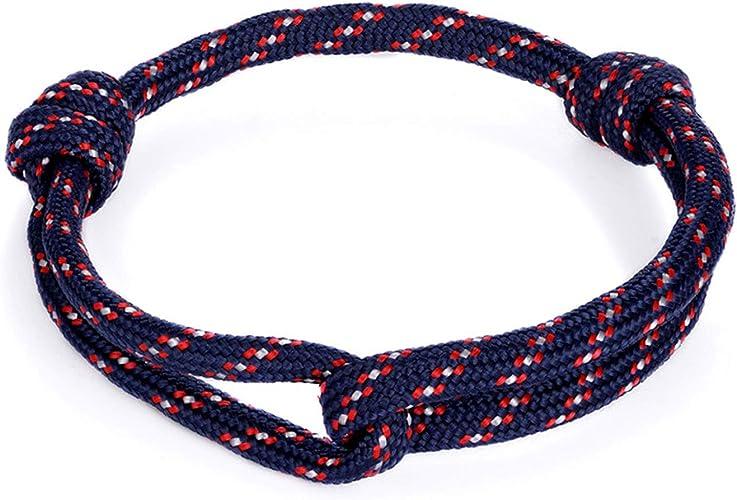Men Women/'s Vintage Nautical Paracord Bracelets Fashion Bracelets