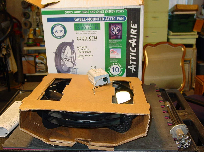 Air Vent Mount Power Inc 53319 Gable Attic Ventilator Gable Vents Amazon Com