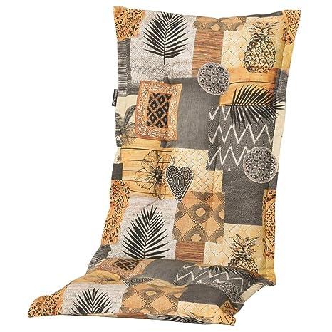 6 Hochlehner Sessel Gartenpolster Auflagen Polster Kissen Stuhlkissen Sitzkissen