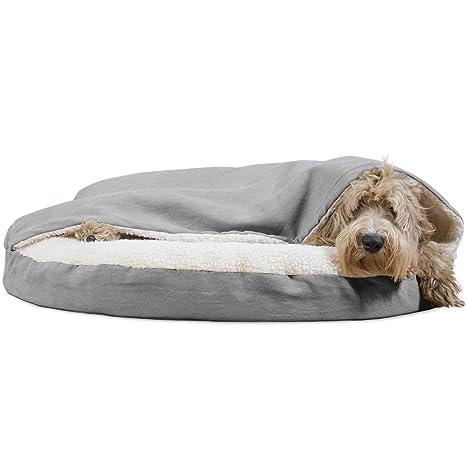 Amazon.com: Furhaven Cama para perro | Ortopedia Redondo ...
