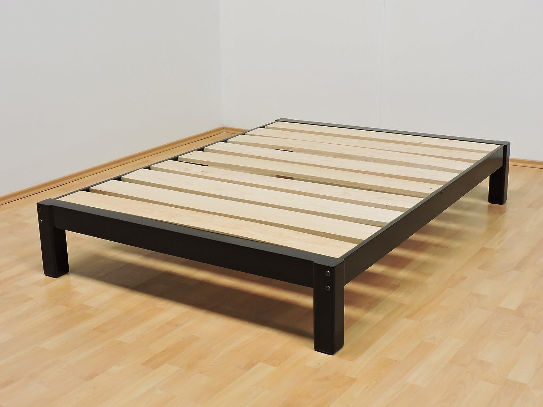 Bases de cama de madera imagen with bases de cama de for Como hacer una base de cama