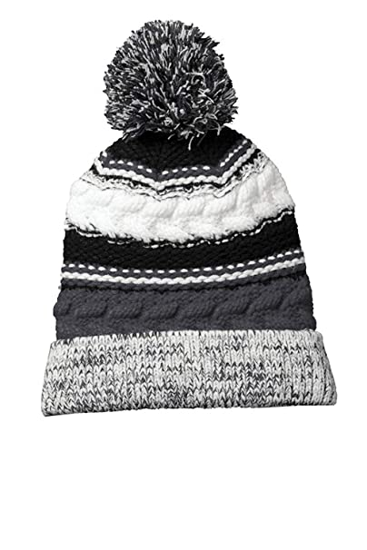 Amazon.com  Sport-Tek Men s Pom Pom Team Beanie a56f0b6ac09