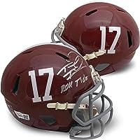 $229 » Tua Tagovailoa Autographed Alabama Crimson Tide Signed Football ROLL TIDE Mini Helmet…