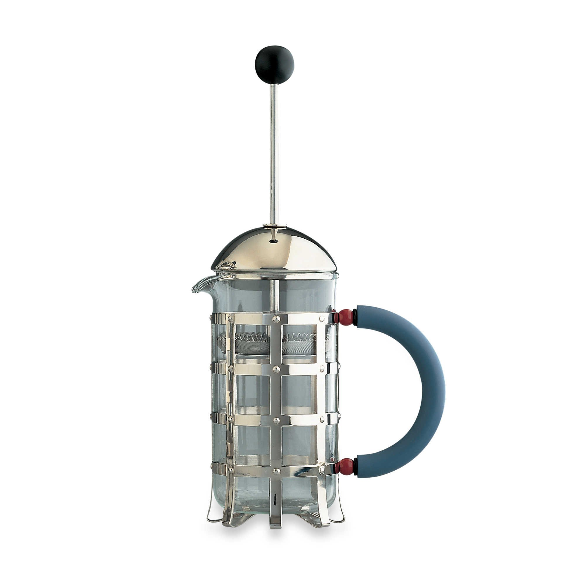 Alessi 3-Cup Press Filter Coffee Maker