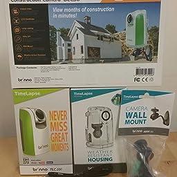 Amazon Com Brinno Tlc0 Time Lapse And Stop Motion Hd Video Camera Green c50 16 Bundle Camera Photo