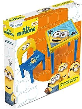 Minions – Mesa de actividades, hmin005, amarillo , color/modelo surtido: Amazon.es: Juguetes y juegos