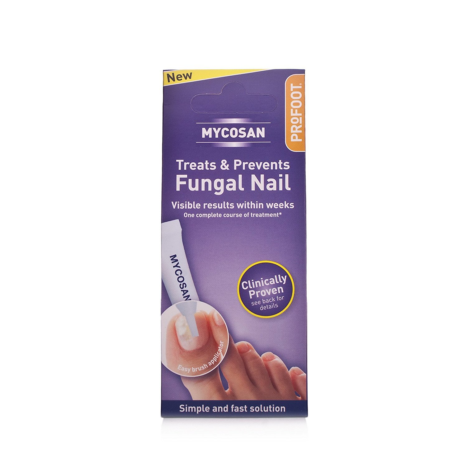 Profoot Mycosan Fungal Nail Treatment: Amazon.co.uk: Health ...