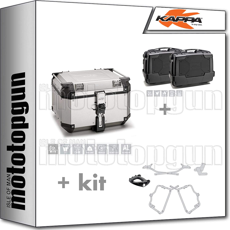 KAPPA KVE48AN - Maleta con ruedas (maleta lateral, maleta lateral, monociclo y Yamaha FZ6 / FAZER 2004 04)