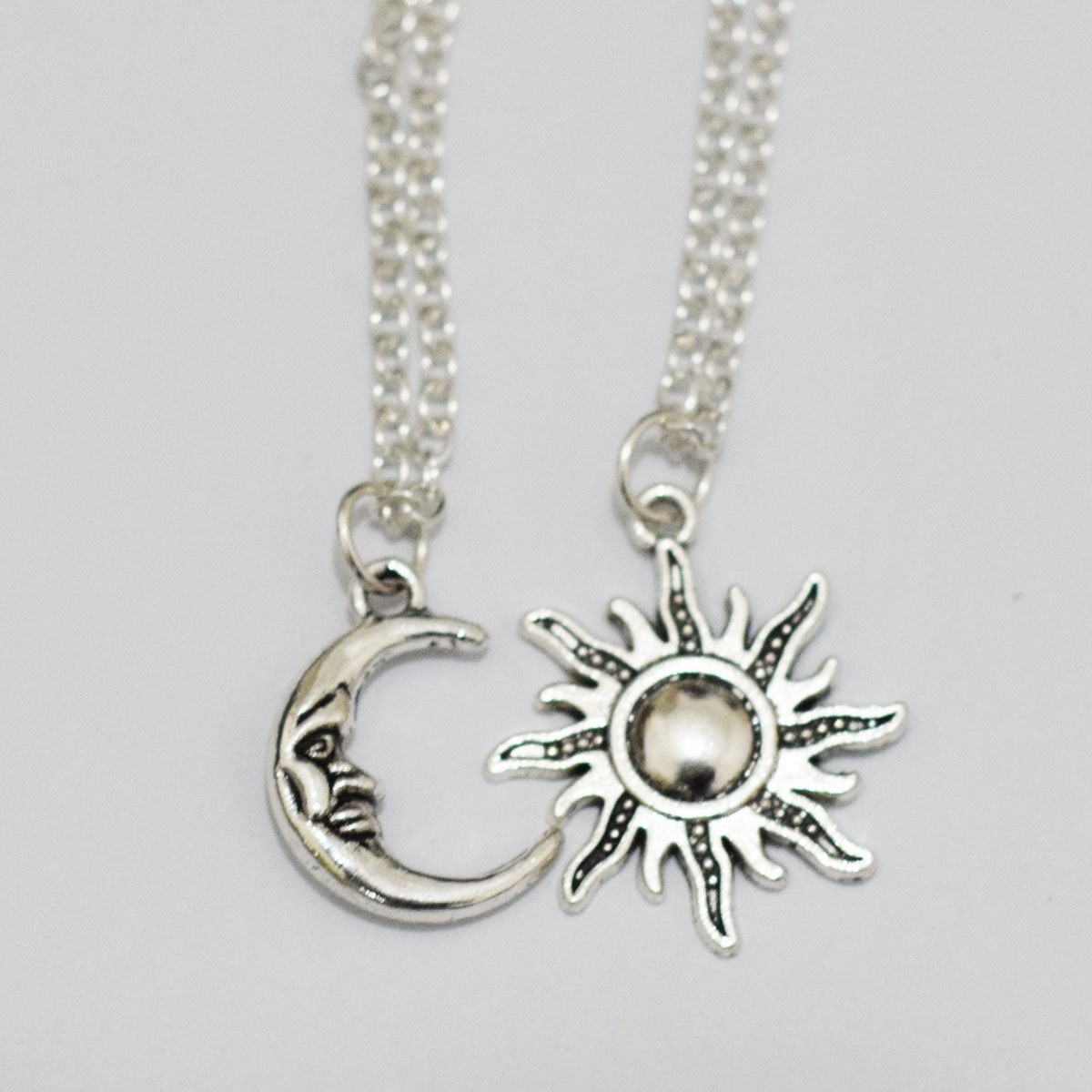 Amazon sun and moon friendship necklaces bff jewelry arts amazon sun and moon friendship necklaces bff jewelry arts crafts sewing mozeypictures Gallery