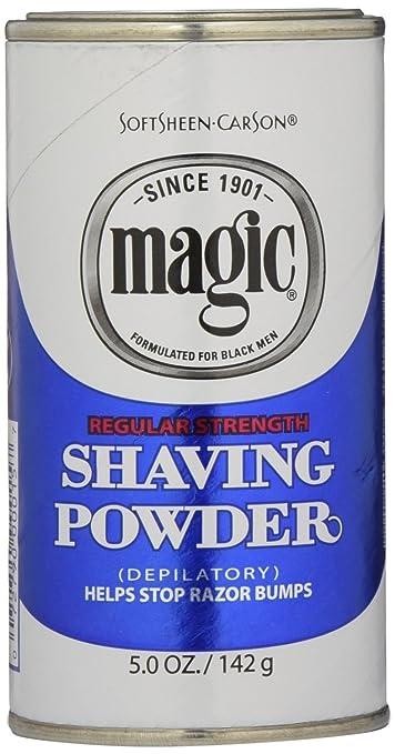 Amazon Com Magic Blue Shaving Powder 5 Oz Regular Depilatory 6