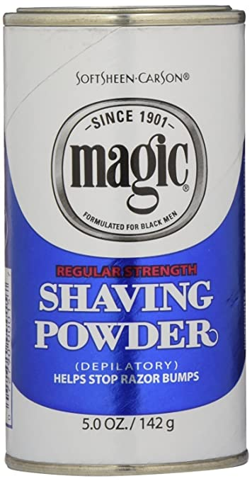 Amazon Com Magic Blue Shaving Powder 5 Oz Regular Depilatory 6 Pack Beauty