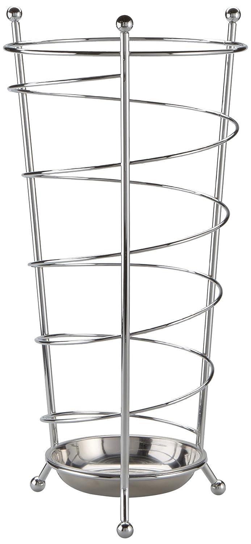 Zeller 13020 Portaombrelli, Metallo, Argento, 0.1x25x47.5 cm