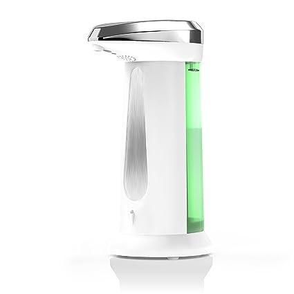 Arendo Dispensador/dosificador de jabón automático | Dispensador de jabón líquido con sensor de infrarrojos