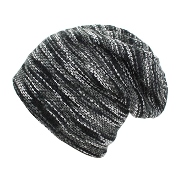 78074e72a84f9 Chibi-Store Knitted Hat Winter Hats Men Skullies Beanies Mask Striped Beanie  Gorros Bonnet,