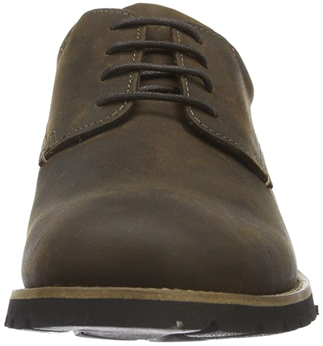 Marshall Plaintoe, Oxford Homme, Marron (Dark Brown Leather), 46 EURockport