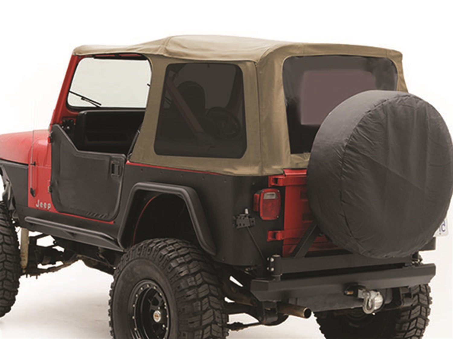 Amazon.com: Smittybilt 9870217 Denim Spice OEM Replacement Soft Top With  Door Skins And Tinted Windows: Automotive