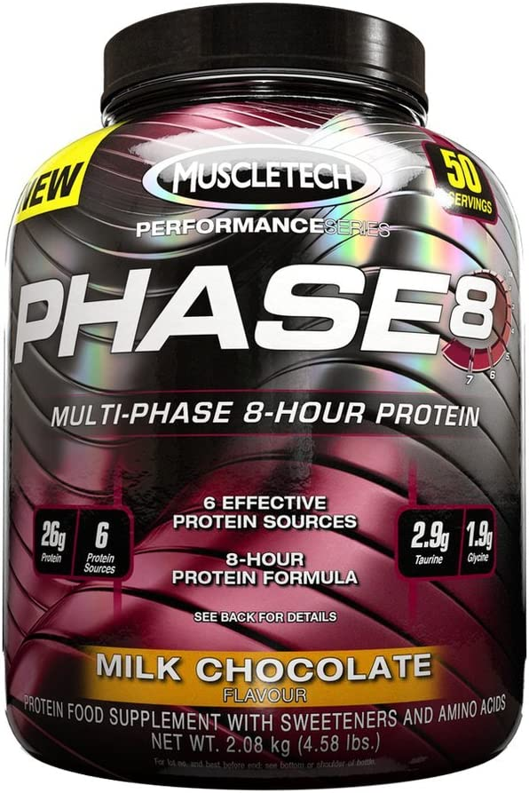 Muscletech Performance Series Phase 8 Milk Chocolate - 2100 gr