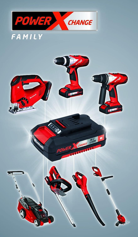 Einhell 4512020 Power X-Change Schnell-Ladeger/ät f/ür 1,5 Ah 3,0 Ah und 5,2 Ah Power X-Change Batterien