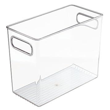 interdesign cabinetkitchen binz bote de rangement extra grand bac de rangement en - Grand Bac Plastique