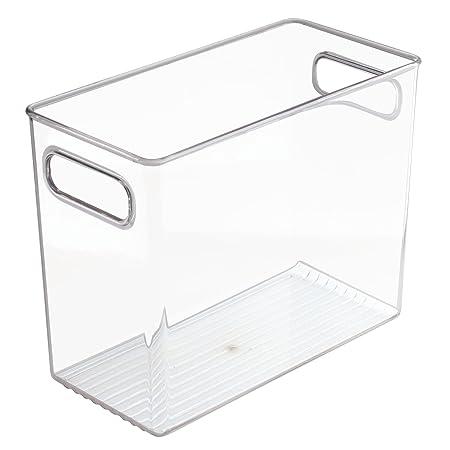 Attirant InterDesign Cabinet/Kitchen Binz Kitchen Storage Container, Tall Plastic  Storage Boxes For The Fridge