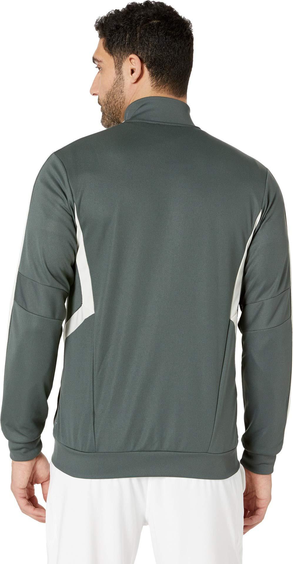 adidas Men's AFS Tiro Track Jacket Legend Ivy/Raw White Small