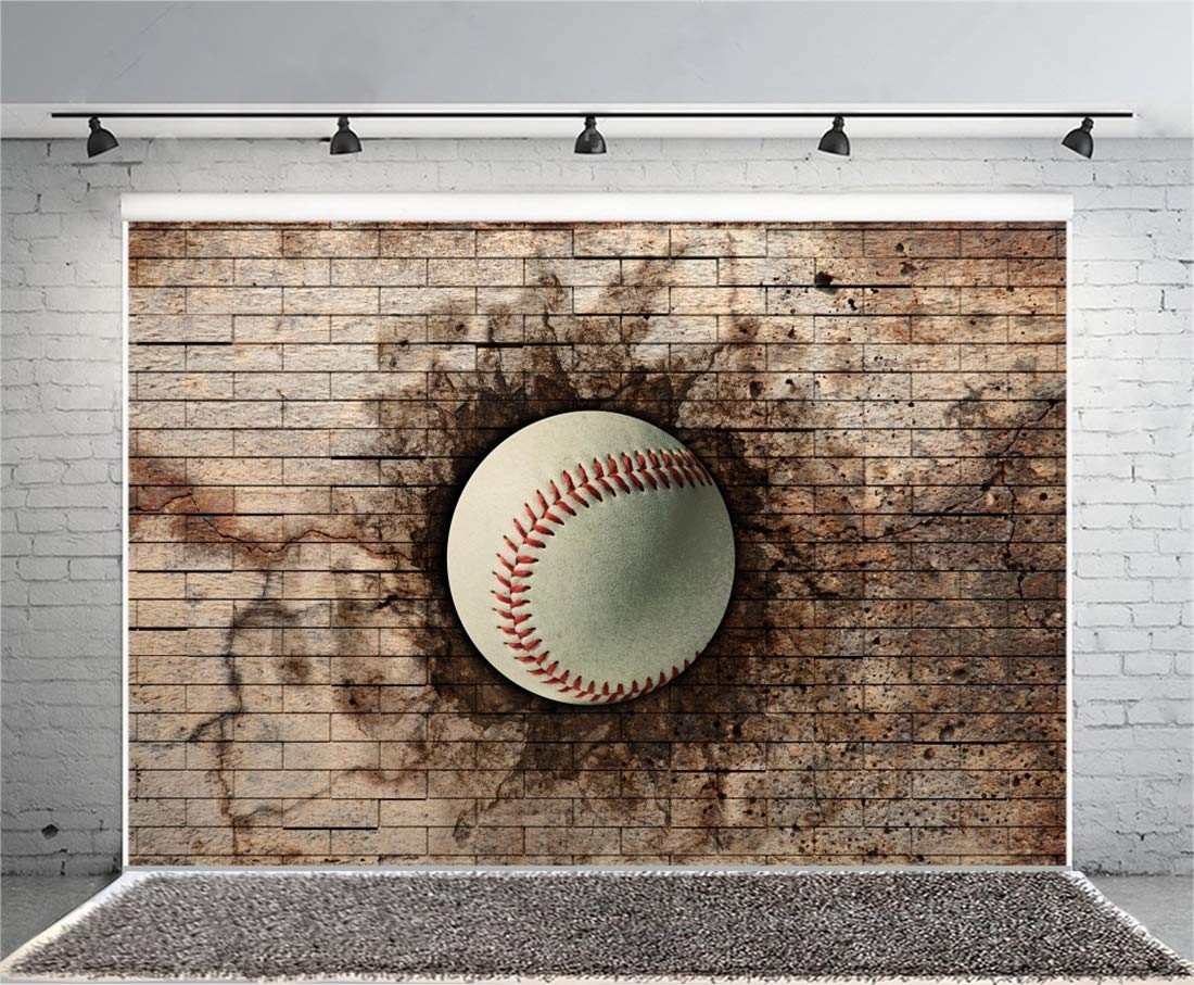 Buy Yeele 9x7ft Photography Background Grunge Wall Baseball Sports