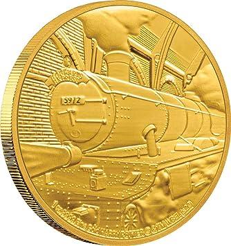 Hogwarts Express Harry Potter 1 Oz Moneda Oro 250$ Niue 2020 ...