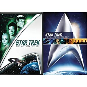 Star Trek 1-4: The Motion Picture / Wrath of Khan / The Search for Spock / The Voyage Home (4 Disc DVD Set)