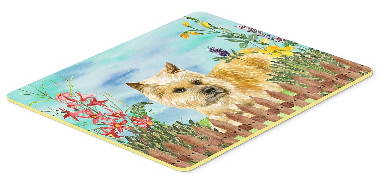 Carolines Treasures CK1252JCMT Cairn Terrier Spring Kitchen Mat 24 x 36 Multicolor