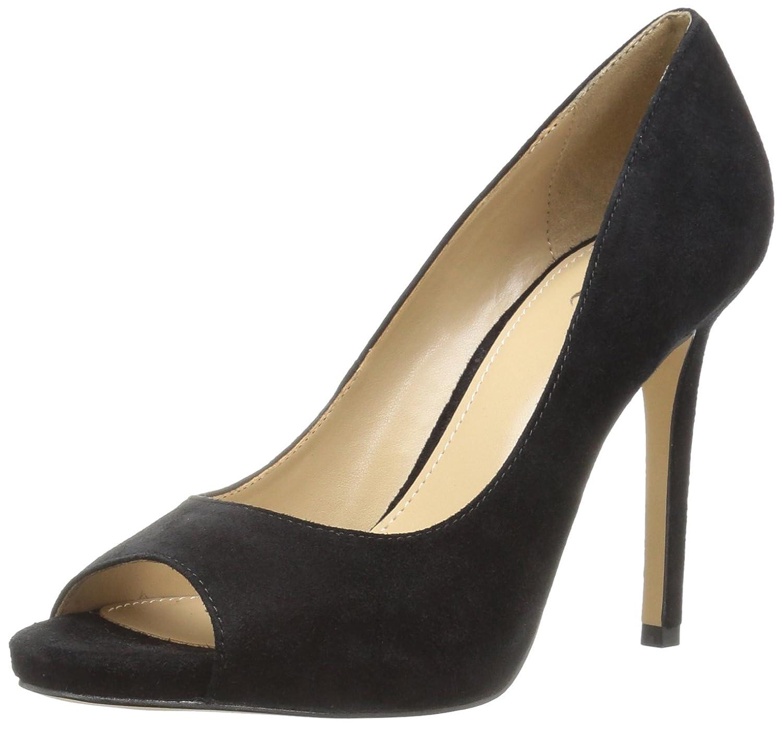 The Fix Women's Rosalee Peep Toe Platform Stiletto Dress Pump B06XGZCQHN 7.5 B(M) US|Black