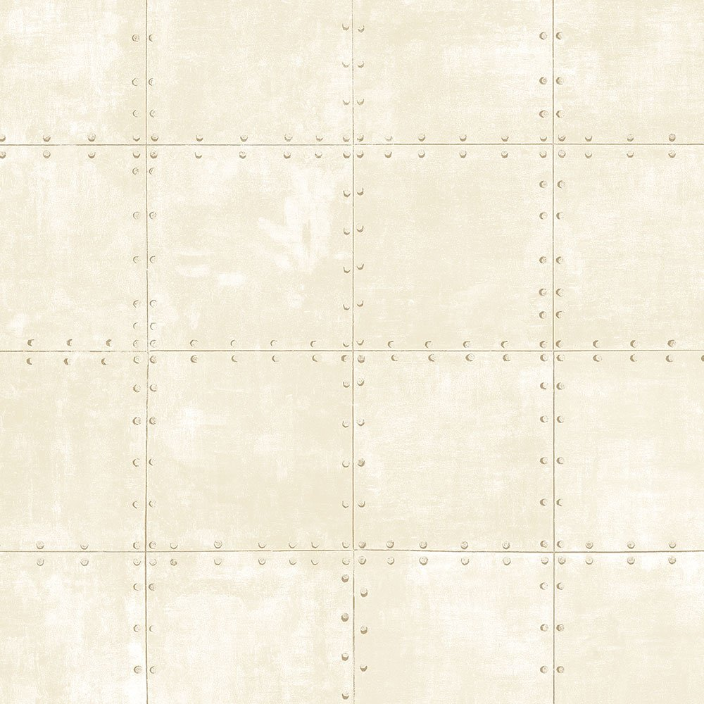 Norwall LL36231 Steel Tile Wallpaper