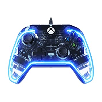 amazon com pdp afterglow prismatic wired controller for xbox one rh amazon com Xbox 360 Controller Wiring Diagram Xbox Controller Buttons
