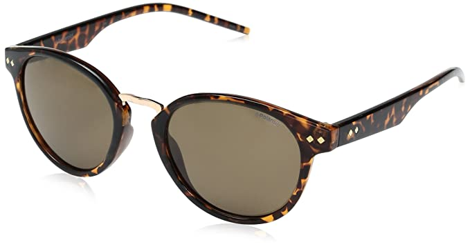 ee84cdf275c Image Unavailable. Image not available for. Color  Polaroid Sunglasses  Women s Pld1022s Round