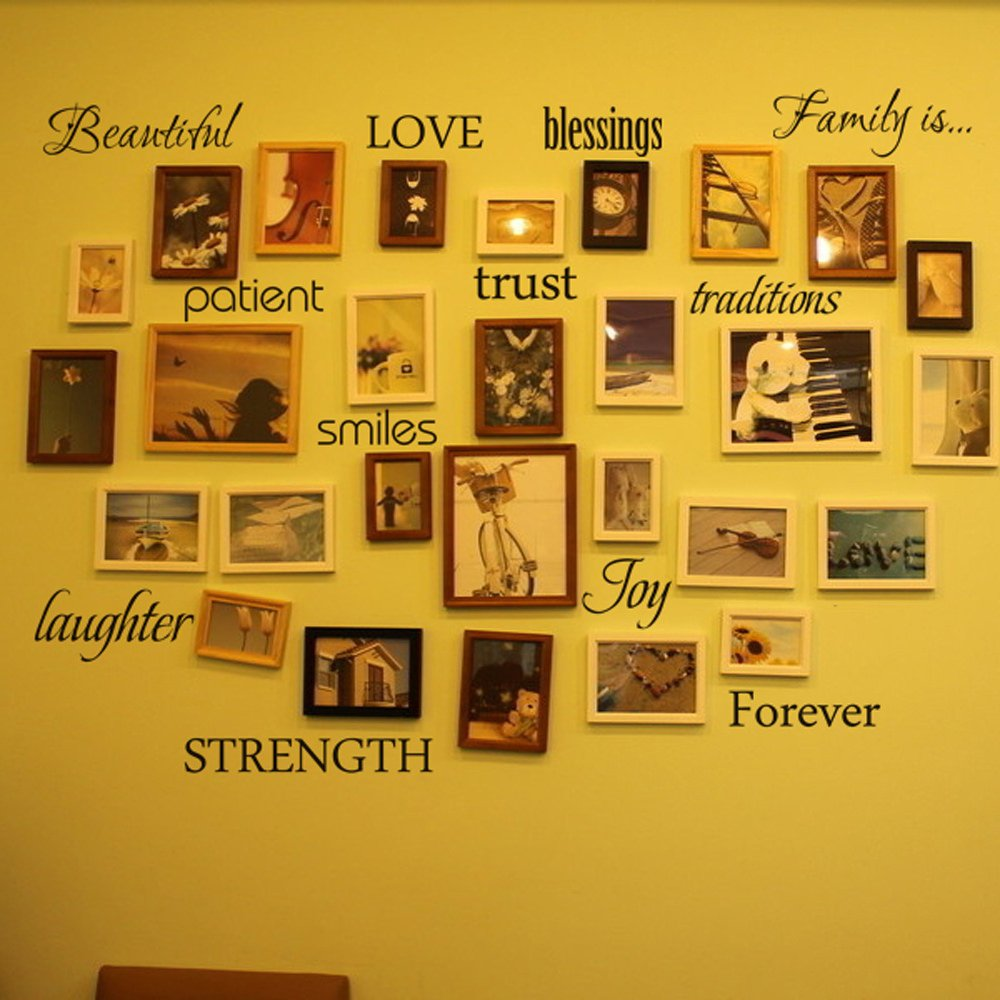 Nice Family Rules Wall Art Embellishment - All About Wallart ...
