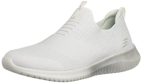 Skechers 12838 - Tobillo bajo de Sintético Mujer: Amazon.es: Zapatos y complementos
